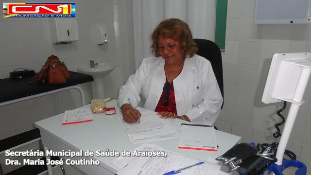 Secretária Municipal de Saúde de Araioses participará do evento em Brasília.