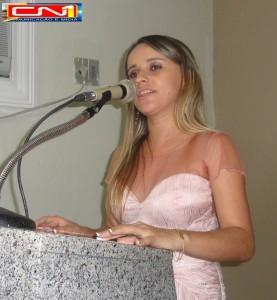 Prefeita Valéria Leal/Foto: Arquivo