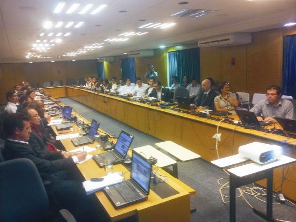 Vice-Governador Washington Luiz reunidos com gestores municipais do Maranhão e representantes de ministérios