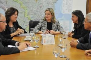 Roseana ajusta calendário do PAC com ministras Gleisi Hoffmann e Míriam Belchior