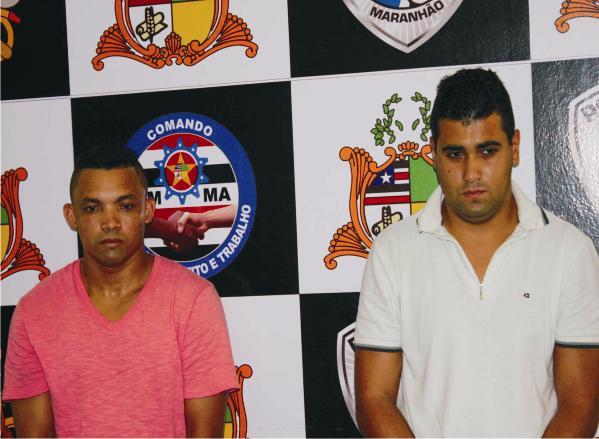 Diego da Costa Monteiro e Marcio Roberto Gonçalves Furtado preso acusados de integrar quadrilha especializada em clonar cartões