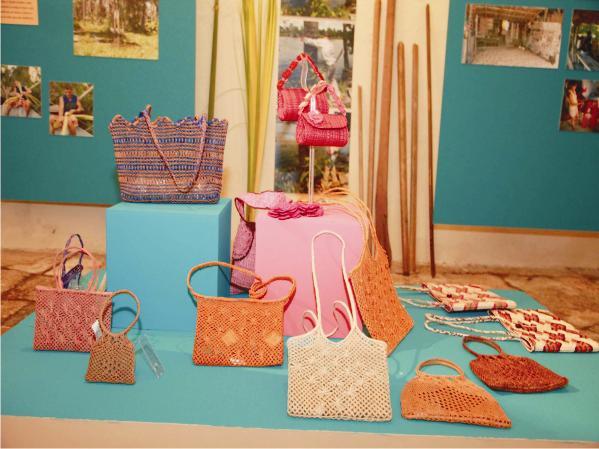 Criações que estão à mostra na Casa de Nhozinho, na Praia Grande