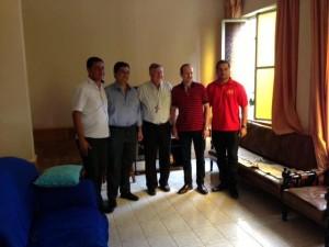 Visita ao Bispo de Balsas, Dom Enemésio Ângelo Lazzaris.