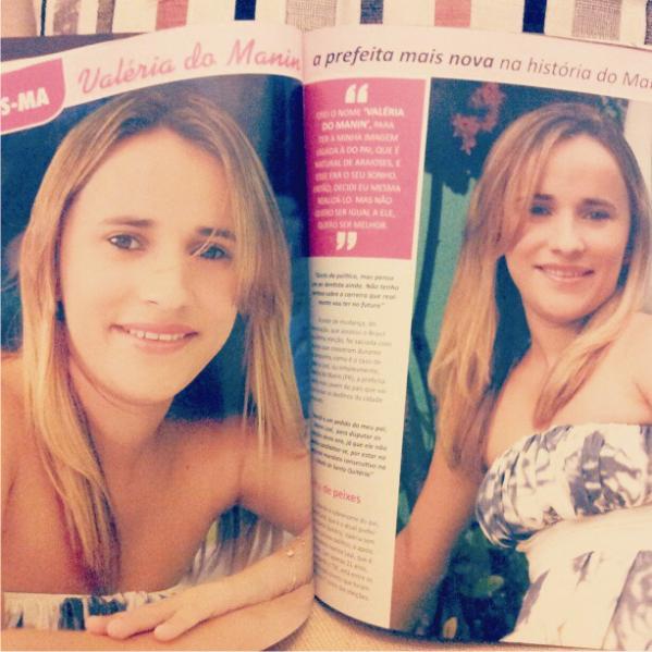 Foto Valéria Leal postou em seu Facebook.