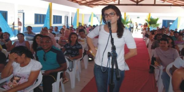 A professora Caroline de São Bernardo teve atuação destacada.
