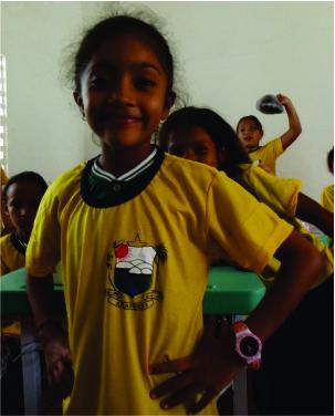 Evelly Alves Prado - 3 ano A - Elogiada por ser boa aluna.