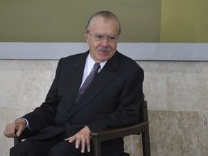 O senador José Sarney (PMDB-AP) (Foto: Antônio Cruz/ABr)
