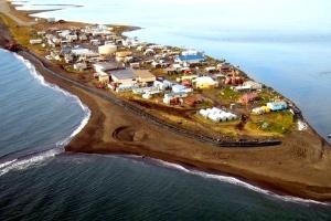 Vilarejo Inuit pode desaparecer sob a água dentro de dez anos - AP/Reuters