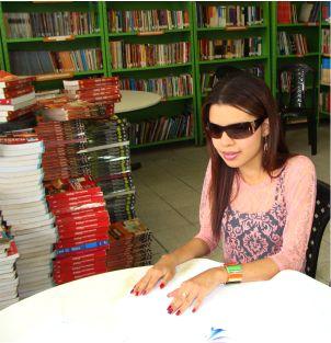 Saray Beatriz de Jesus Santos da Silva é estudante do Centro de Ensino Humberto de Campos - Foto/Orcenil Jr