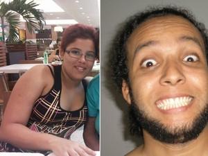 Dhalia e Raphael eram namorados e moravam juntos. (Foto: Reprodução/Facebook)