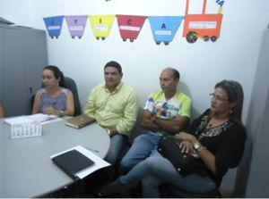 Representantes das Instituições que hoje atuam no município de Araioses com oferta de cursos de graduação e formação geral.