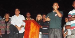 Vereador Júlio César (PT) presidente da Câmara de Vereadores na luta por Max Barros.
