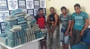 Droga seria enviada para Piauí e outra cidade do interior do Maranhão (Foto: Reprodução)