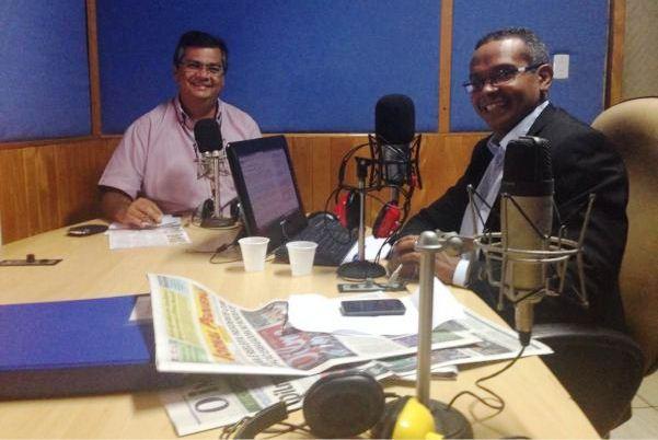 Flávio Dino entrevista Rádio Educadora