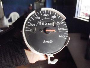 Velocímetro da moto marcava mais 120 km/h