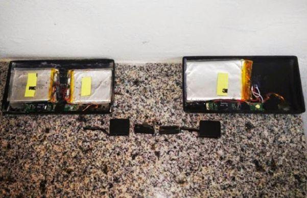 Os equipamentos foram apreendidos ainda com cartões de memória. (Foto: Daniel Santos / Proparnaiba)