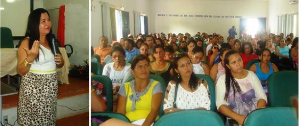 Foto de arquivo da III Jornada Pedagógica do município Araioses.