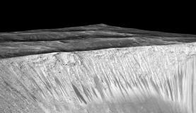 Nasa anuncia descoberta de água na superfície de MarteImagem de divulgação/Nasa