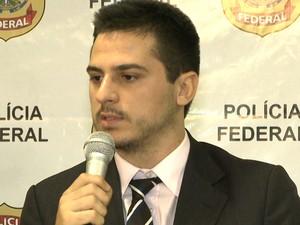 Delegado da PF, Ronildo Lajes (Foto: Reprodução / TV Mirante)