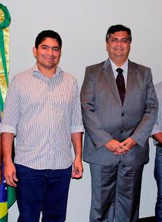 Raimundo Lídio e Flávio Dino