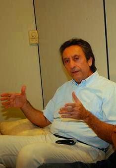 Ricardo Murad com a pança cheia