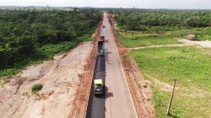 Governo está concluindo a Estrada do Arroz, que liga Imperatriz à Cidelândia