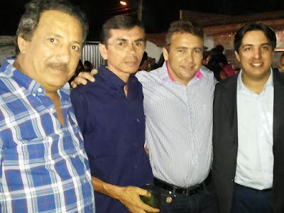 Neto Carvalho, duas lideranças políticas de São Bernardo e o médico João Igor