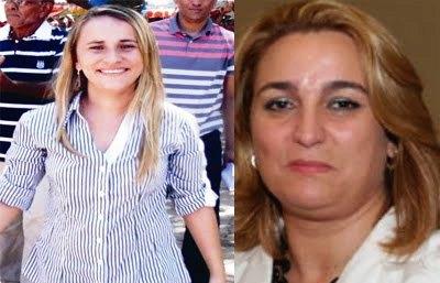 Valéria do Manin e Luciana Trinta estão disputando o campeonato da maior rejeição, segundo pesquisas de opinião pública
