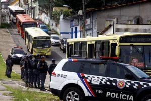O Batalhão Tiradentes, mais novo grupamento da Polícia Militar do Maranhão (PMMA), iniciou este mês um trabalho especializado no combate aos assaltos a ônibus. Foto: Handson Chagas/Secap